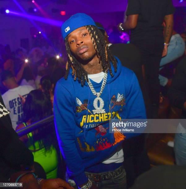 Rapper King Von attends Compound Saturday Nights at Compound on August 29 2020 in Atlanta Georgia