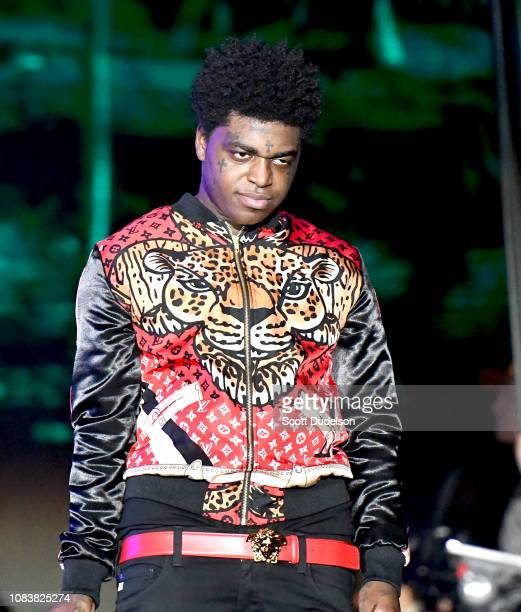 Rapper Kodak Black performs onstage during day 2 of Rolling Loud Festival at Banc of California Stadium on December 15 2018 in Los Angeles California