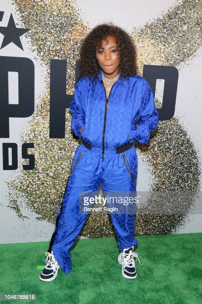 Rapper Kodie Shane arrives at the BET Hip Hop Awards 2018 at Fillmore Miami Beach on October 6 2018 in Miami Beach Florida