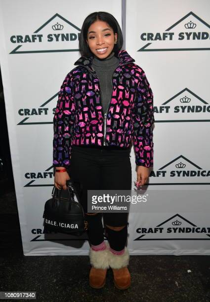 Rapper Light Skin Keisha attends A Craft Syndicate Music Collaboration Unveiling Event at Opera Atlanta on December 10 2018 in Atlanta Georgia