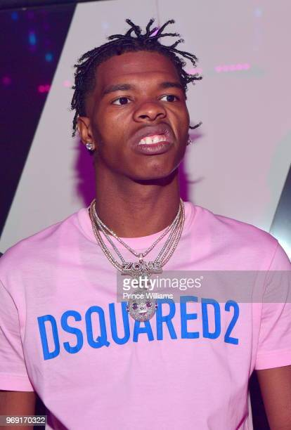 Rapper Lil Baby attends a Birthday Celebration for Pierre 'Pee' Thomas at Gold Room on June 7 2018 in Atlanta Georgia
