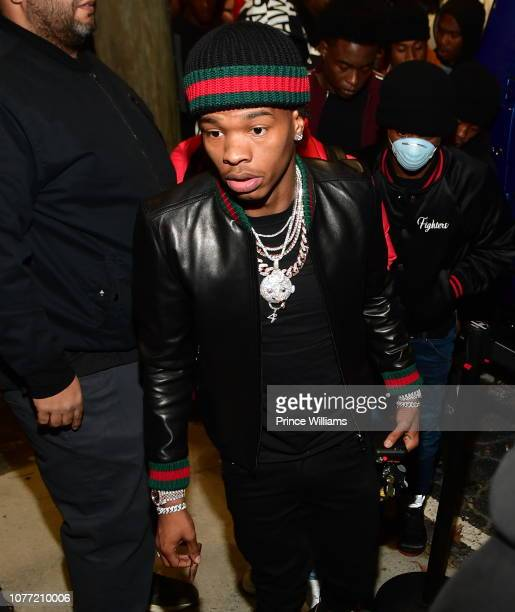 Rapper Lil Baby attends his Birthday Bash at Ravine on December 3 2018 in Atlanta Georgia