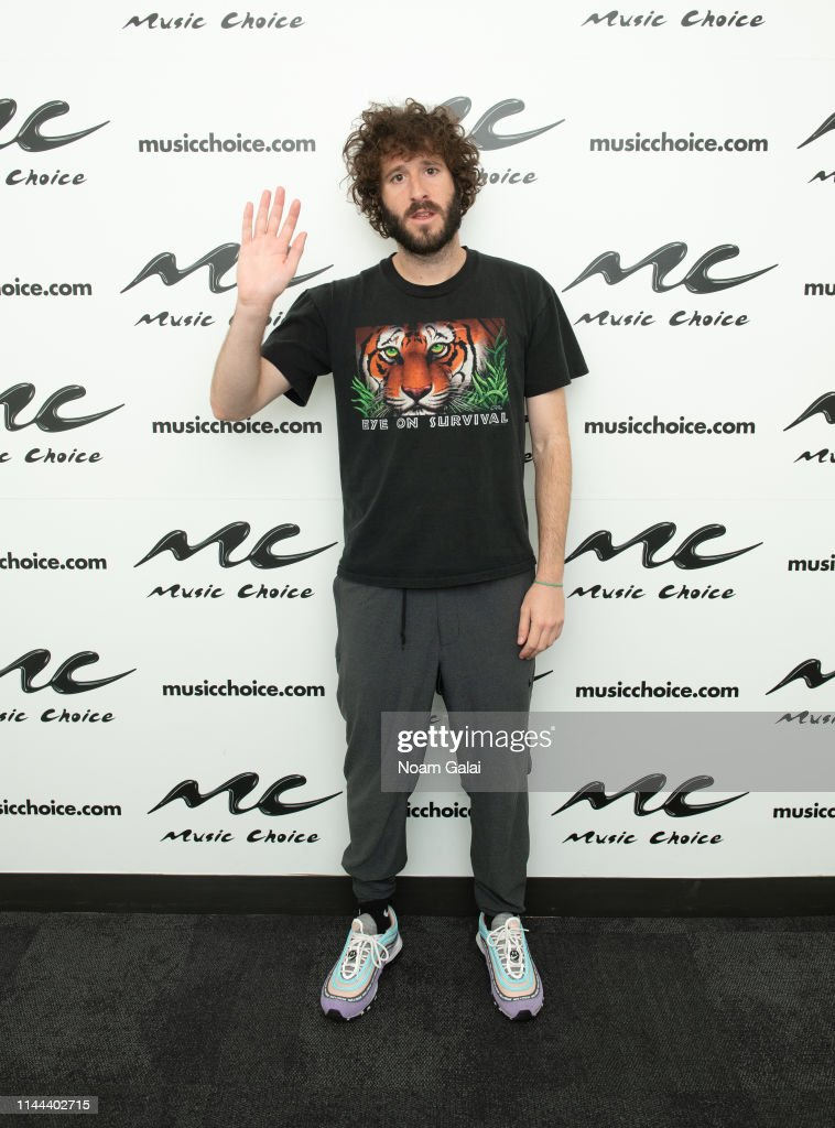 NY: Lil Dicky Visits Music Choice