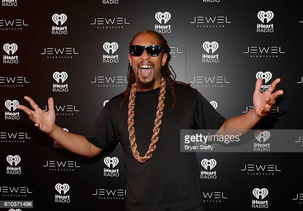 Rapper Lil Jon arrives at the iHeartRadio Music Festival after party at Jewel Nightclub at the Aria Resort Casino on September 24 2016 in Las Vegas...