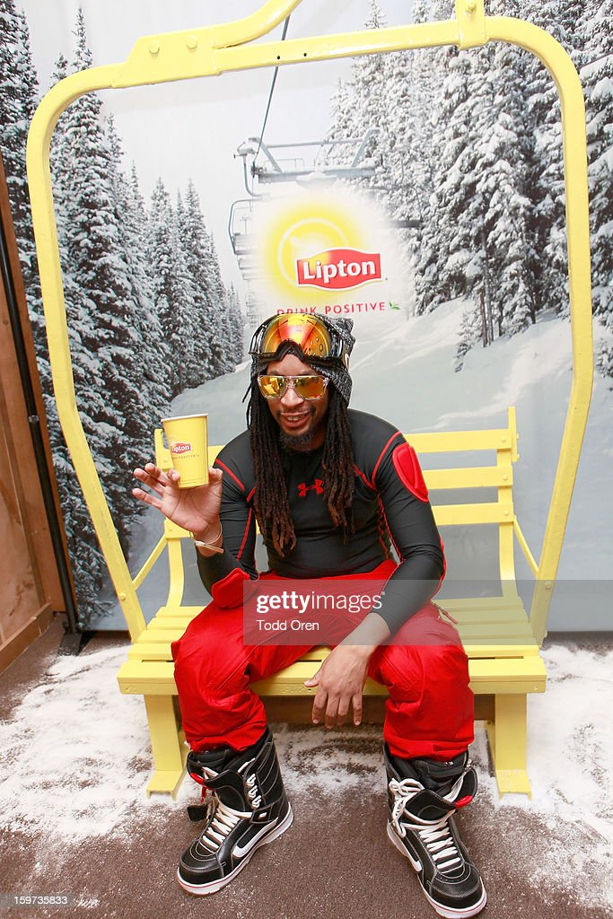 Rapper Lil Jon attends Day 2 of Sears Shop Your Way Digital Recharge Lounge on January 19, 2013 in Park City, Utah.