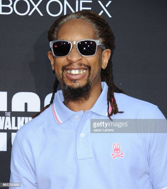 Rapper Lil Jon attends the 100th episode celebration off 'The Walking Dead' at The Greek Theatre on October 22 2017 in Los Angeles California