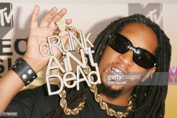Rapper Lil' Jon attends the 2006 MTV Video Music Awards at Radio City Music Hall August 31 2006 in New York City