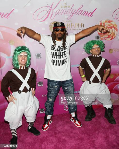 Rapper Lil Jon attends the Karma International Kandyland event at Boulevard 3 on August 25 2018 in Hollywood California