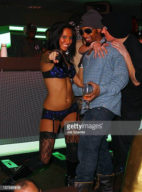 Rapper Lil Jon attends TMobile presents Google Music at TAO a nightlife event at the Sundance Film Festival held at TMobile Google Music Village at...