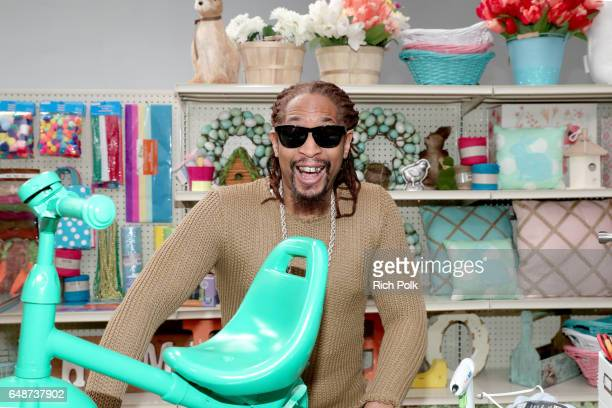 Rapper Lil Jon behind the scenes of Making with Michaels at Stage THIS on March 2 2017 in Sun Valley California