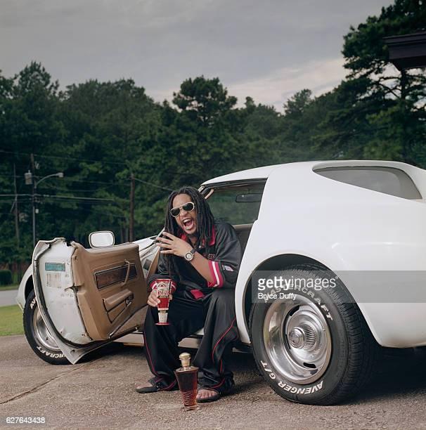 Rapper Lil Jon in Stingray