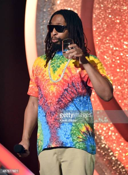 Rapper Lil Jon performs onstage during the 2014 iHeartRadio Music Awards held at The Shrine Auditorium on May 1 2014 in Los Angeles California...