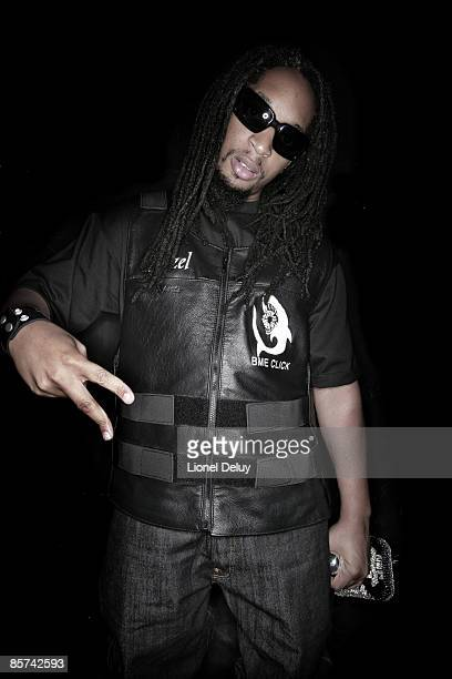 Rapper Lil' Jon poses for a portrait session in Venice for Self Assignment