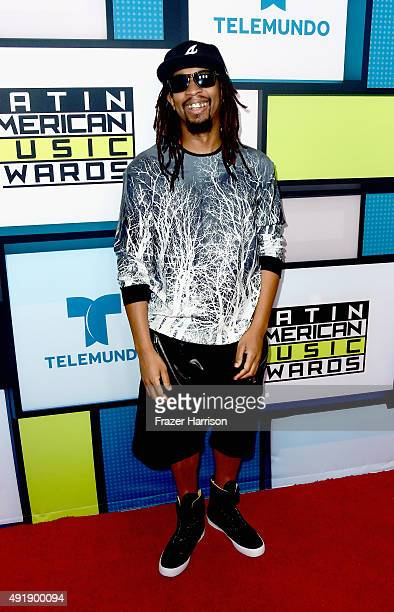 Rapper Lil Jon poses in the press room during Telemundo's Latin American Music Awards at the Dolby Theatre on October 8 2015 in Hollywood California