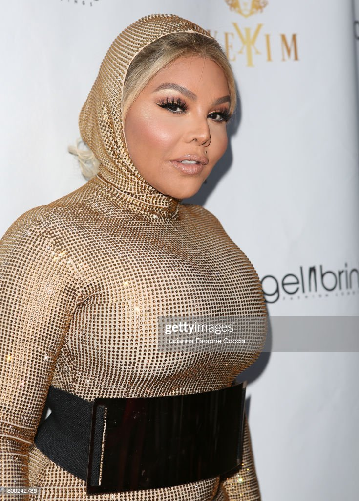 Rapper Lil' Kim attends Yekim X Brinks, a day party and fashion experience at Penthouse Nightclub & Dayclub on June 23, 2017 in West Hollywood, California.