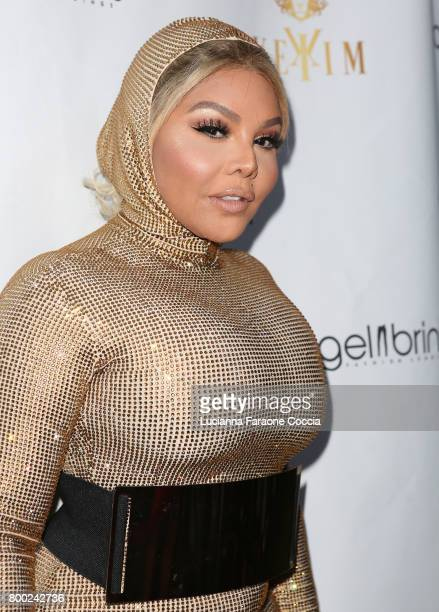 Rapper Lil' Kim attends Yekim X Brinks a day party and fashion experience at Penthouse Nightclub Dayclub on June 23 2017 in West Hollywood California
