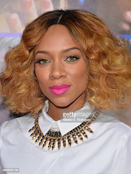 Rapper Lil' Mama arrives at The Pan African Film Arts Festival Premiere of Screen Gems' About Last Night at ArcLight Cinemas Cinerama Dome on...