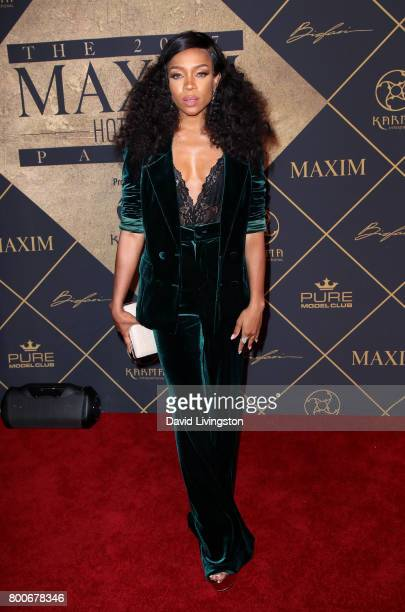 Rapper Lil Mama attends The 2017 MAXIM Hot 100 Party produced by Karma International at The Hollywood Palladium in celebration of MAXIMÕs Hot 100...