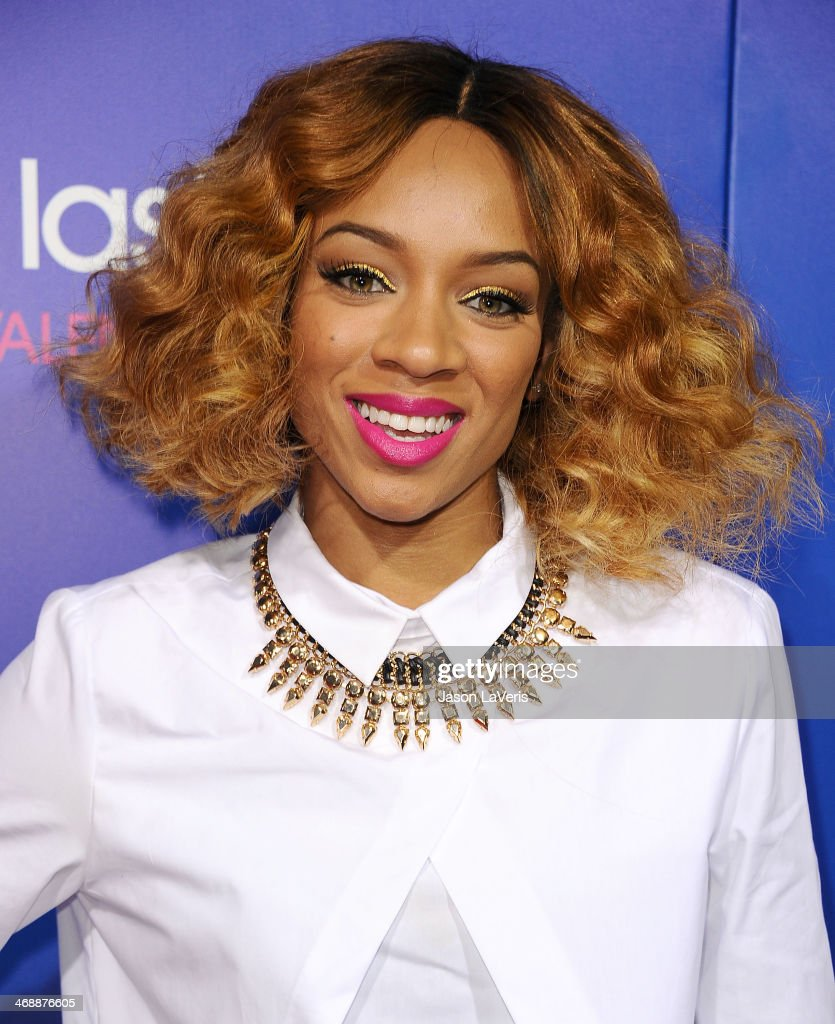 Rapper Lil' Mama attends the Pan African Film & Arts Festival premiere of 'About Last Night' at ArcLight Cinemas Cinerama Dome on February 11, 2014 in Hollywood, California.
