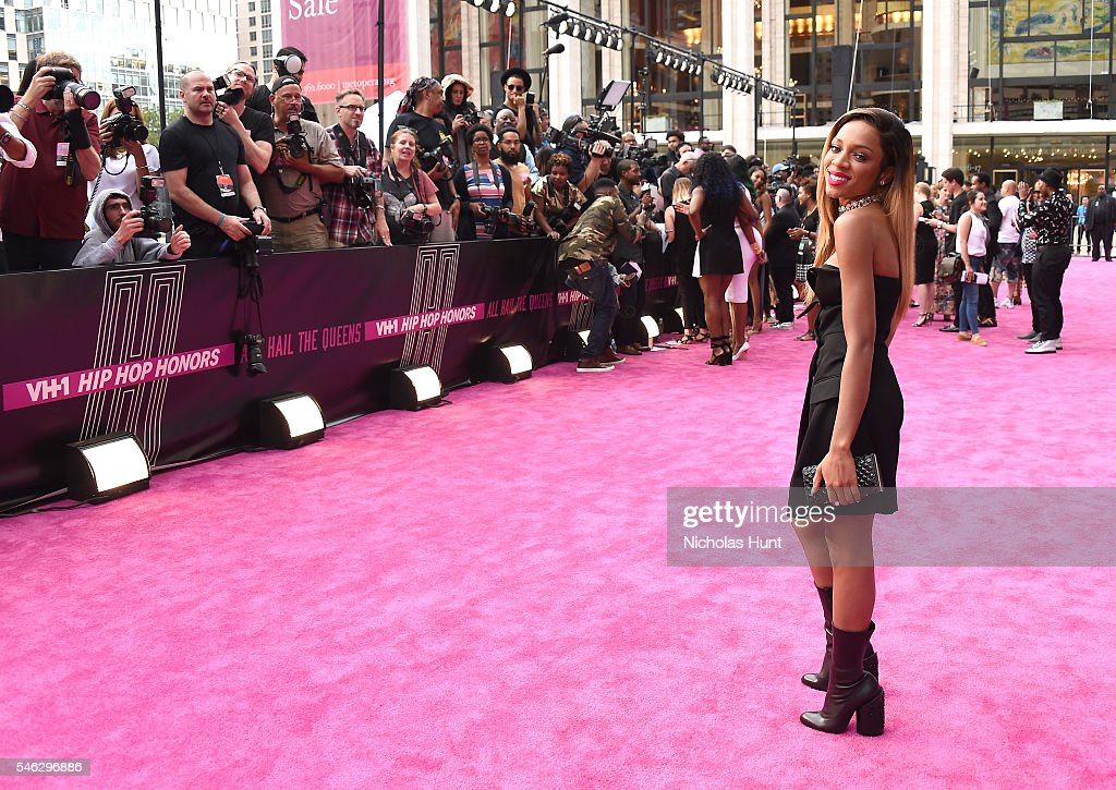 Rapper Lil Mama attends the VH1 Hip Hop Honors: All Hail The Queens at David Geffen Hall on July 11, 2016 in New York City.