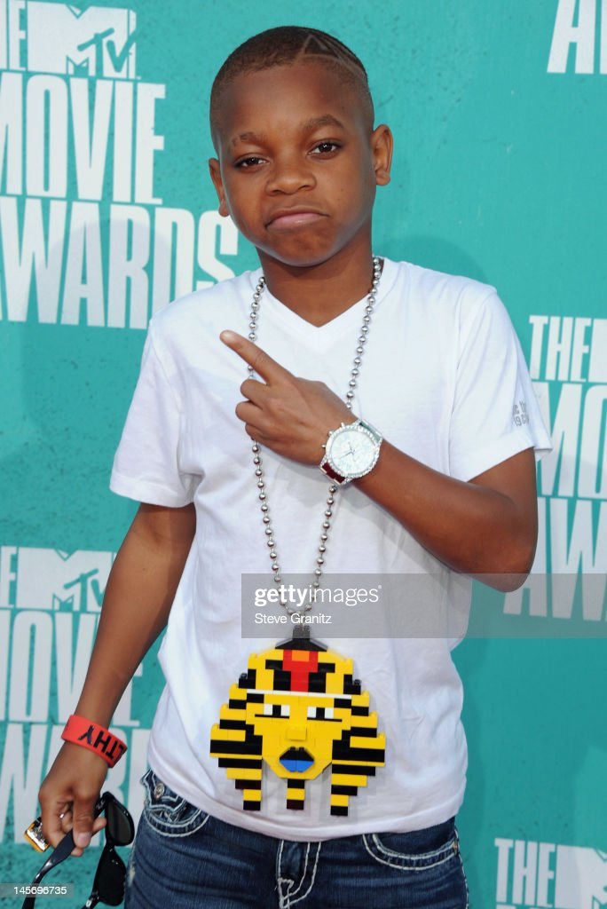 Rapper Lil Niqo arrives at the 2012 MTV Movie Awards at Gibson Amphitheatre on June 3, 2012 in Universal City, California.