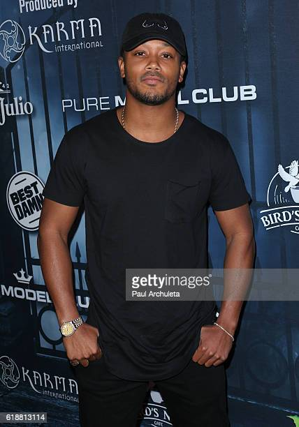 Rapper Lil Romeo attends Maxim Magazine's annual Halloween party on October 22 2016 in Los Angeles California