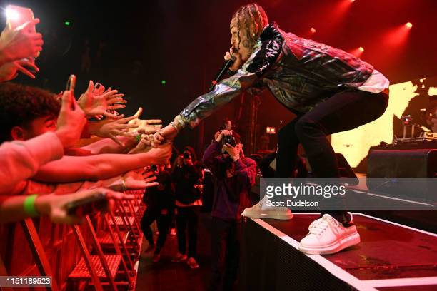 Rapper Lil Skies performs onstage at The Novo by Microsoft on May 22 2019 in Los Angeles California