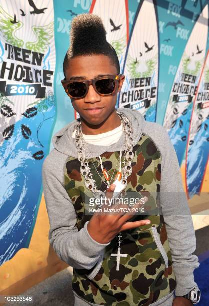 Rapper Lil Twist arrives at the 2010 Teen Choice Awards at Gibson Amphitheatre on August 8 2010 in Universal City California