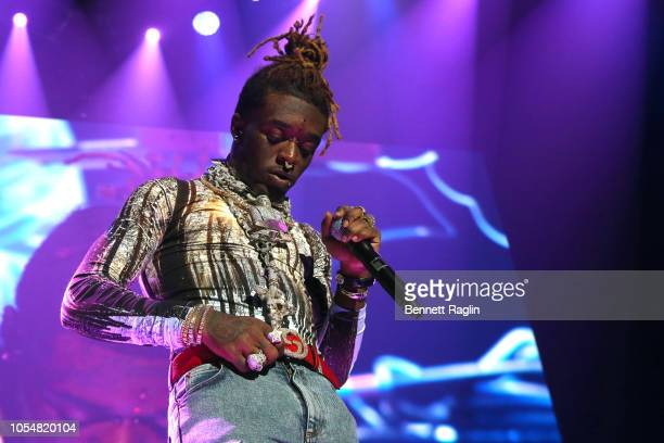 Rapper Lil Uzi Vert performs at Power 1051's Powerhouse 2018 at Prudential Center on October 28 2018 in Newark New Jersey