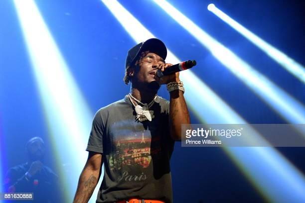 Rapper Lil Uzi Vert Performs in Concert at The Tabernacle on November 28 2017 in Atlanta Georgia