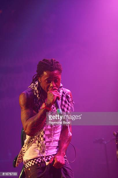 Rapper Lil Wayne peforms at the House of Blues in Chicago Illinois on June 11 2008