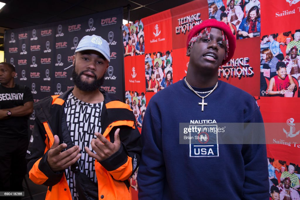 Rapper lil yachty and chaz french attend teenage emotions album lil yachty meet greet news photo m4hsunfo