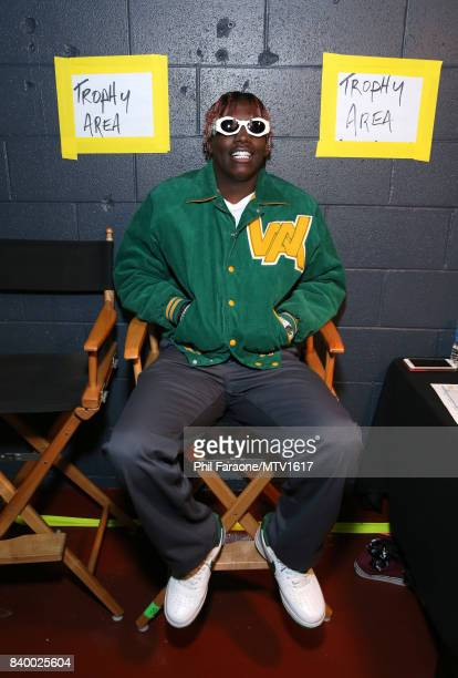 Rapper Lil Yachty backstage at the 2017 MTV Video Music Awards at The Forum on August 27 2017 in Inglewood California
