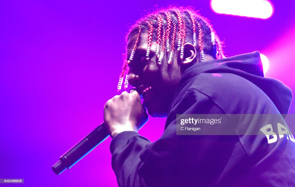 Rapper Lil Yachty performs during Bay Nites at the Bill Graham Civic Auditorium on March 31, 2018 in San Francisco, California.