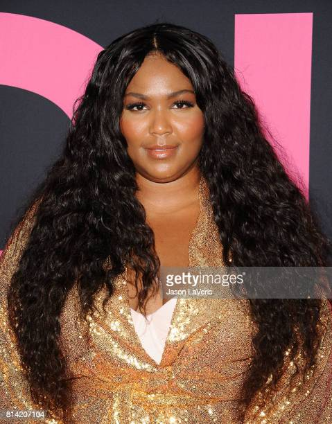 Rapper Lizzo attends the premiere of 'Girls Trip' at Regal LA Live Stadium 14 on July 13 2017 in Los Angeles California