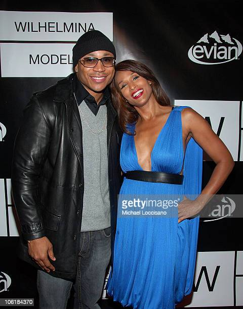 Rapper LL Cool J and model Beverly Johnson arrive to the 40th Anniversary Celebration of Wilhelmina Models The Angel Orensanz Foundation in New York...