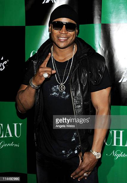 Rapper LL Cool J arrives at Chateau Nightclub and Gardens at Paris Las Vegas on May 21 2011 in Las Vegas Nevada