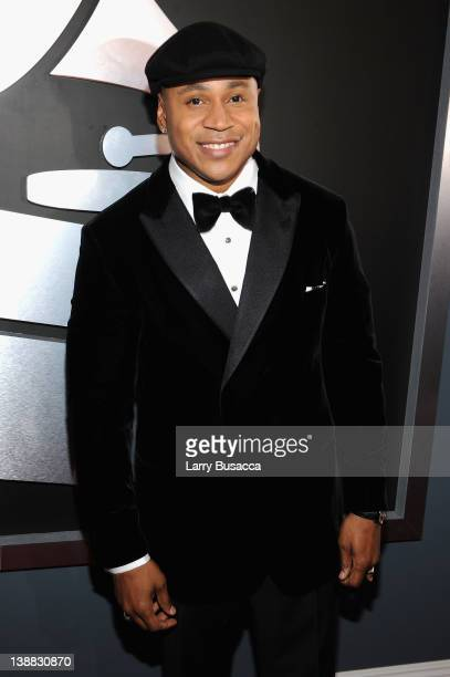 Rapper LL Cool J arrives at the 54th Annual GRAMMY Awards held at Staples Center on February 12 2012 in Los Angeles California