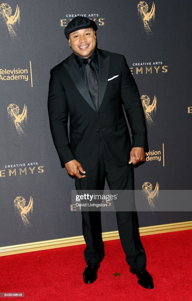 Rapper LL Cool J attends the 2017 Creative Arts Emmy Awards at Microsoft Theater on September 9, 2017 in Los Angeles, California.
