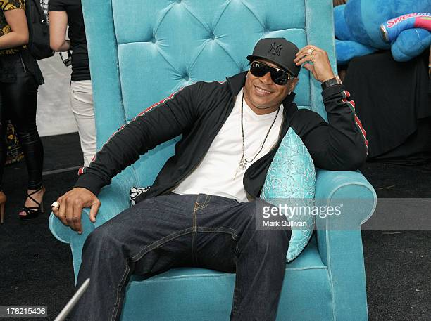 Rapper LL Cool J attends the Backstage Creations Celebrity Retreat At Teen Choice 2013 at Gibson Amphitheatre on August 11 2013 in Universal City...