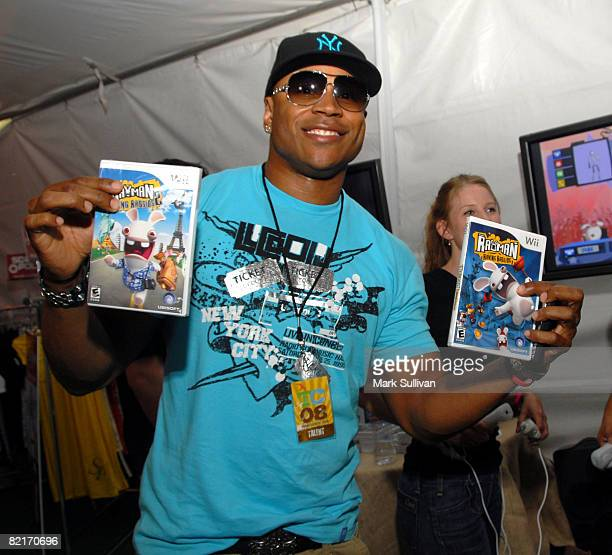 Rapper LL Cool J attends the Mattel Celebrity Retreat produced by Backstage Creations at Teen Choice 2008 on August 3 2008 in Universal City...