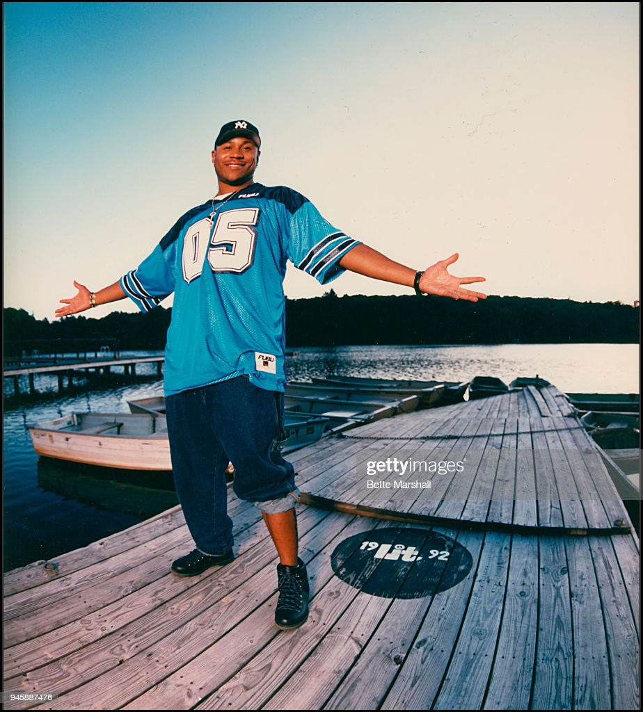 Rapper LL Cool J is photographed in 1992 in New Jersey.