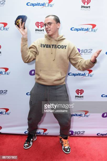 Rapper Logic attends Q102's Jingle Ball 2017 Presented by Capital One at Wells Fargo Center on December 6 2017 in Philadelphia Pennsylvania