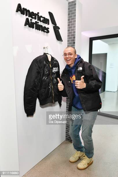 Rapper Logic attends Sir Lucian Grainge's 2018 Artist Showcase presented by Citi with support from Remy Martin on January 27 2018 in New York City