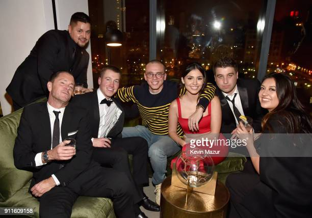 Rapper Logic attends the Universal Music Group's 2018 After Party to celebrate the Grammy Awards presented by American Airlines and Citi at Spring...