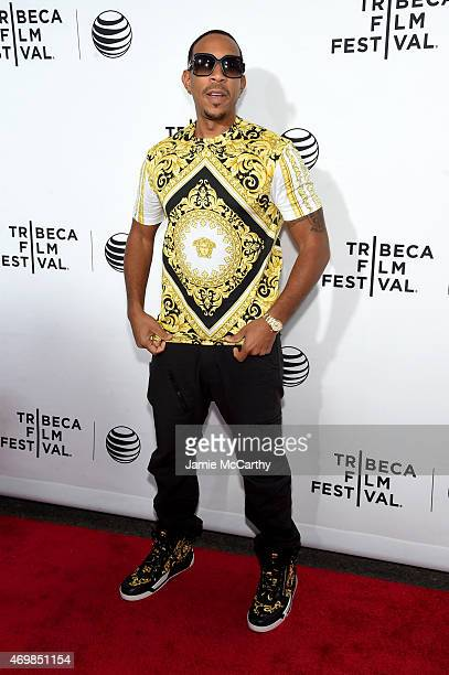 Rapper Ludacris attends the Opening Night premiere of Live From New York during the 2015 Tribeca Film Festival at the Beacon Theatre on April 15 2015...