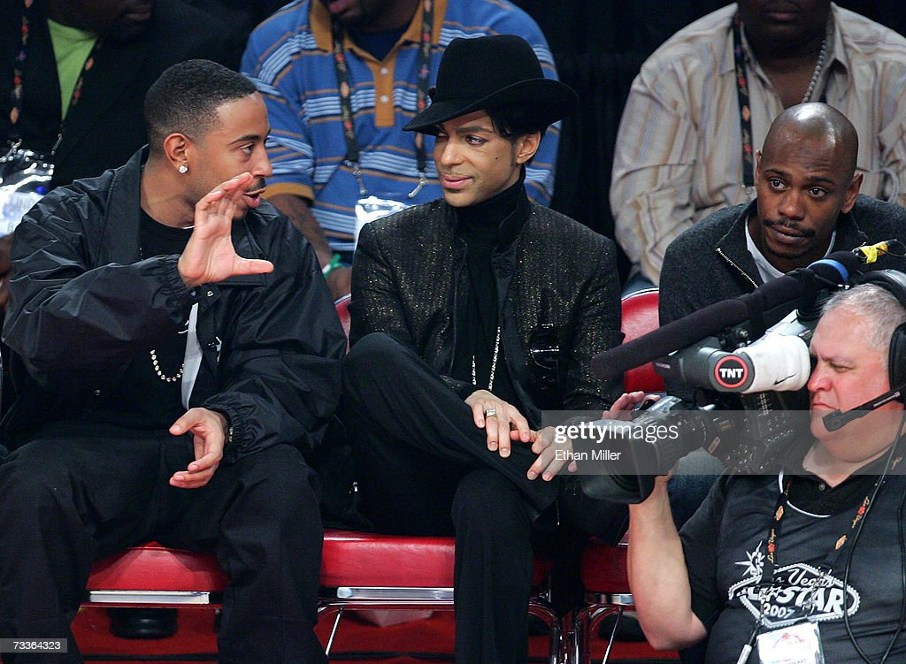Celebrities Attend 2007 NBA All Star Game