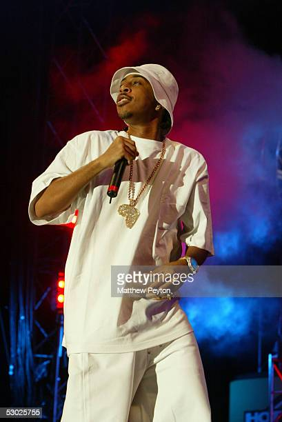 Rapper Ludacris performs at the Hot 97 Summer Jam 2005 Concert June 5 2005 at Giant Stadium in East Rutherford New Jersey