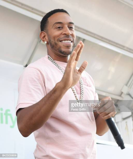 Rapper Ludacris performs onstage at Ambitious X and Ludacris Foundation presents 2017 Luda Fam Day on September 2 2017 at Turner Field in Atlanta...