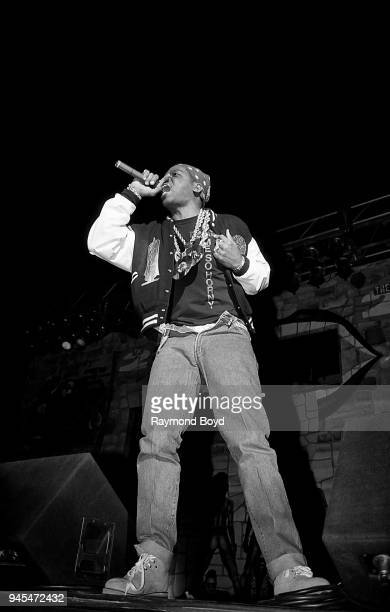 Rapper Luke Skyywalker from 2 Live Crew performs at the International Amphitheatre in Chicago Illinois in October 1989